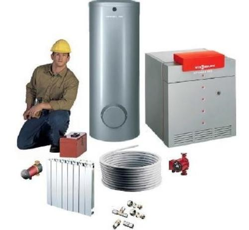 Агрегаты, детали и узлы системы обогрева