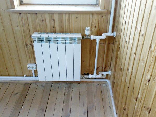 Алюминиевые батареи — популярное решение для частных домов с автономным отоплением.