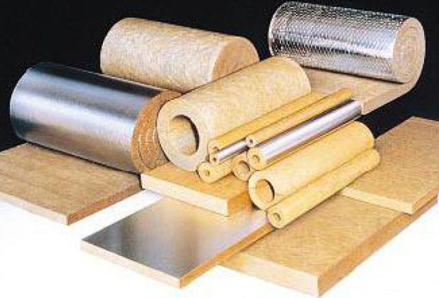 Базальтовая вата выпускается в различных формах.