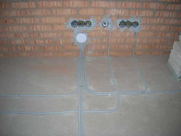 Без качественной проводки электрообогрев невозможен