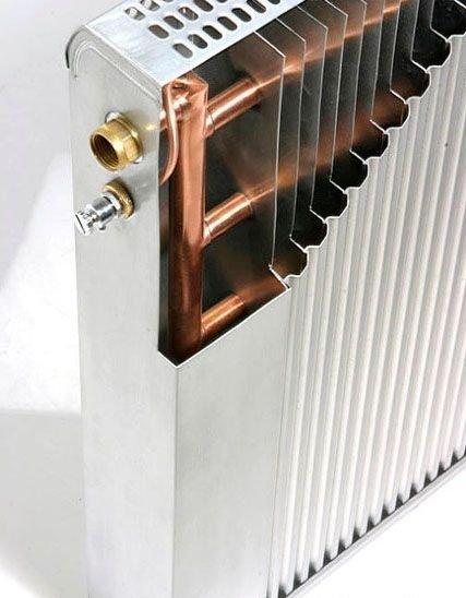 Биметаллический радиатор с медной начинкой.
