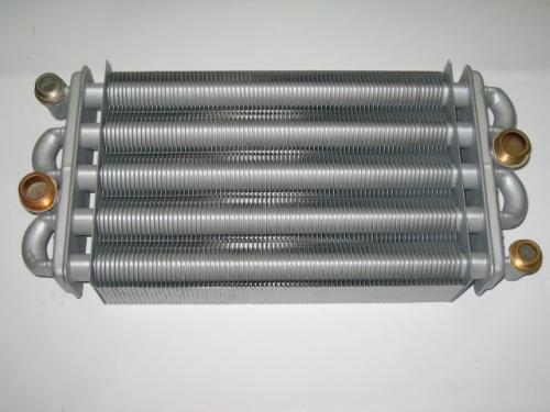 Битермический пластинчатый теплообменник системы отопления