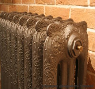 Чугунный декоративный радиатор