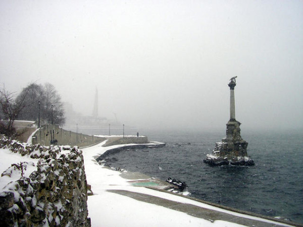 Да-да, в Крыму тоже бывает холодно.
