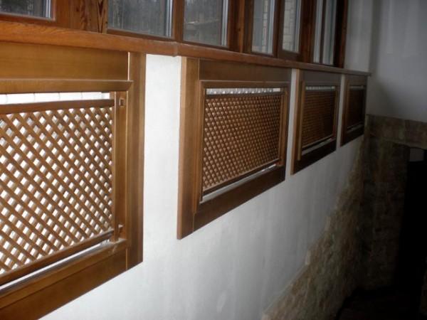 Декоративные экраны для отопительных батарей