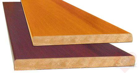 Для изготовления рамы можно использовать ламинированный МДФ