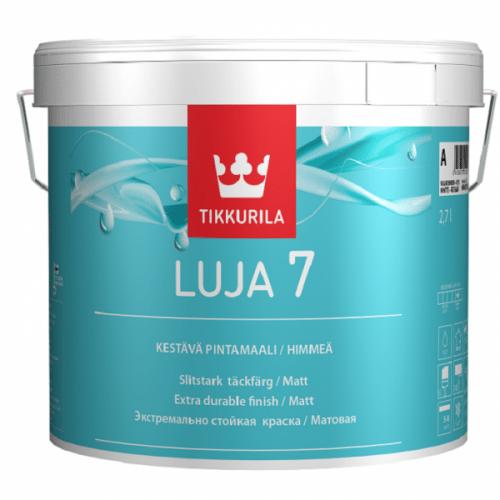 Для покраски пенопластовой плитки и галтелей в ванной комнате можно использовать влагостойкие акриловые краски, такие как Tikkurila luja