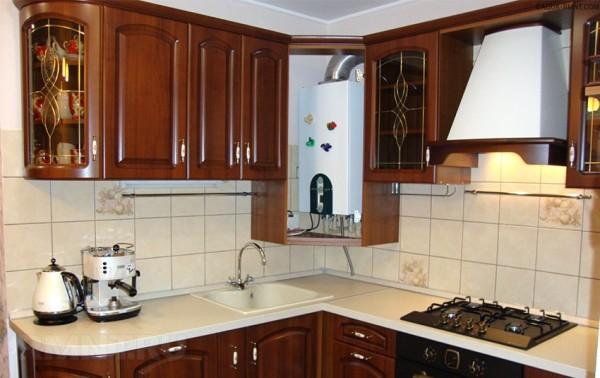 Двухконтурный котел на кухне