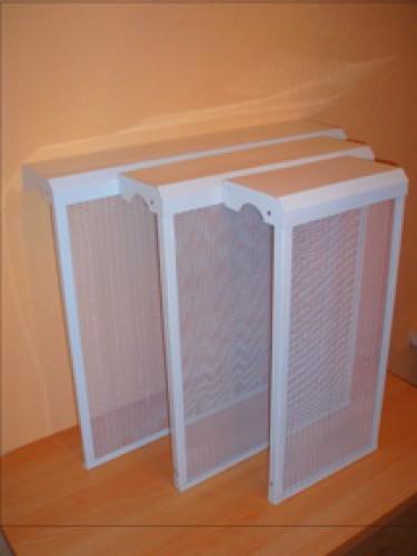 экраны на металлические радиаторы отопления