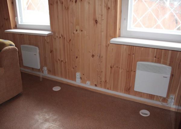 Электрические отопительные радиаторы в доме