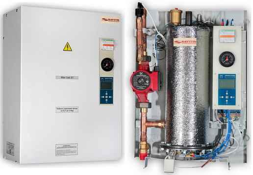 Электрический котел отопления для системы теплоснабжения загородного дома