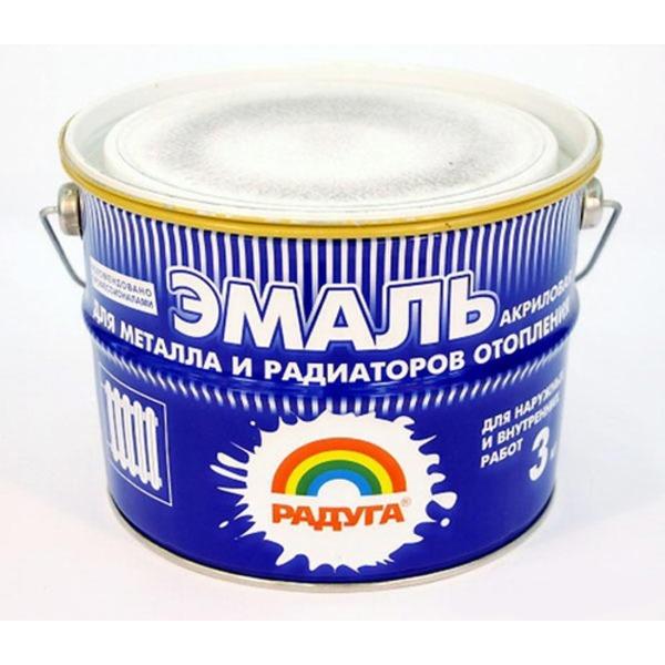 Эмаль без запаха для радиаторов отопления в банке