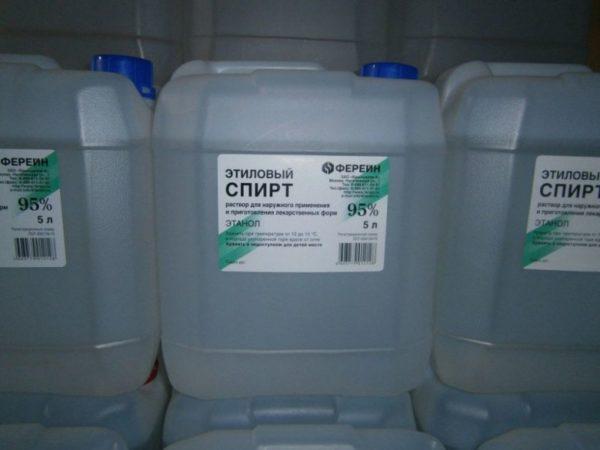 Этиловый спирт довольно дорог, но для систем отопления достаточно самой грубой очистки