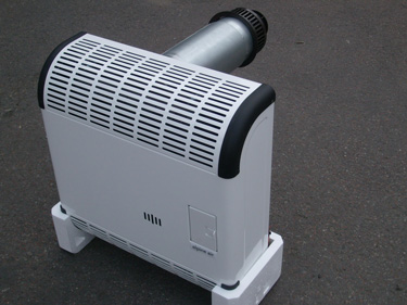 Фото газового конвектора