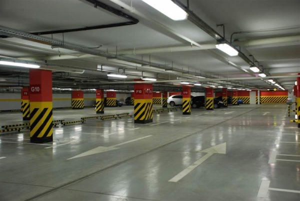 Гаражные паркинги также оснащаются тепловыми устройствами
