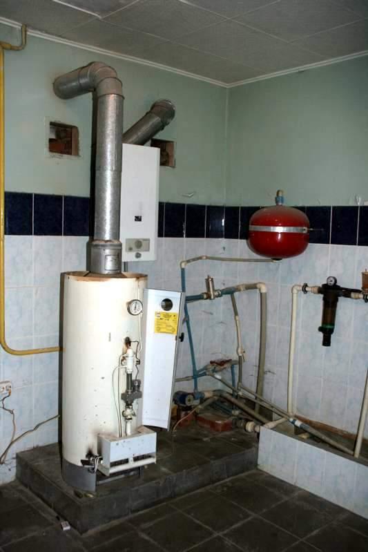 Как установить газовый котёл в частном доме своими руками: фото и видео 15