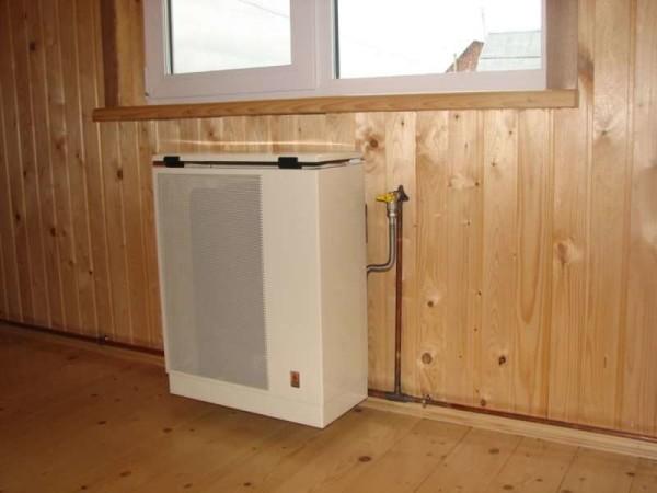 Газовые радиаторы отопления конвекторного типа не требуют электричества