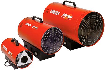 Газовые теплогенераторы для воздушного отопления