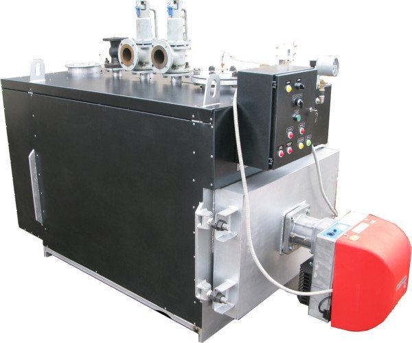 Газовый парогенератор высокой мощности — до 12 000 кг пара за смену.