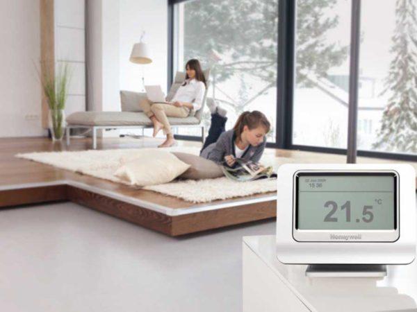 Главная задача термостата — обеспечить стабильную и комфортную температуру в доме.
