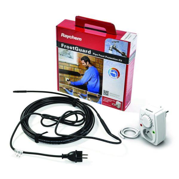Готовый комплект: нагреватель, терморегулятор, вилка, соединительные провода