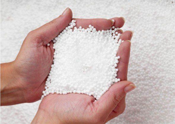 Гранулированный вариант позволяет создавать раствор с высокими теплоизоляционными характеристиками