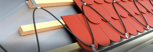 Использование зонального кабеля в обогреве кровли