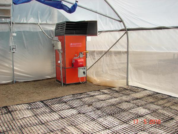 как правильно сделать отопление в теплице