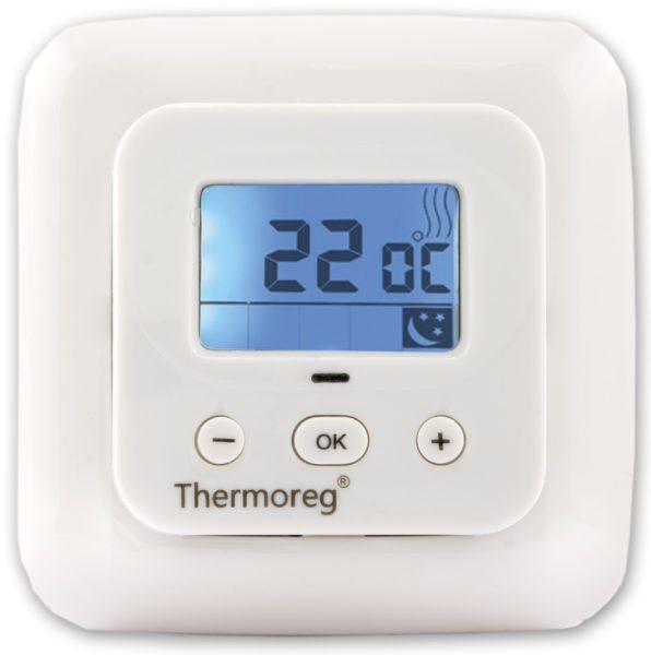 Как только термодатчик покажет заданную температуру, терморегулятор отключит нагрев.