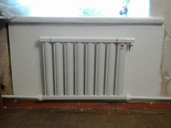 как установить радиаторы отопления