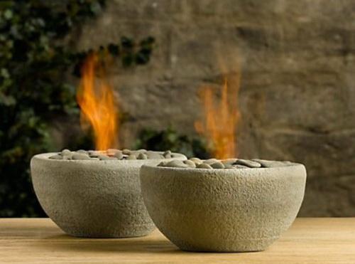 камины с биотопливом