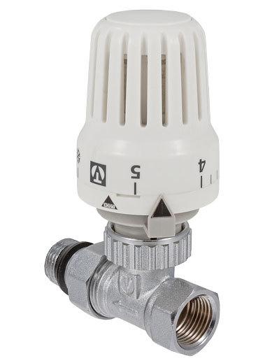 Клапан с термостатом для радиатора