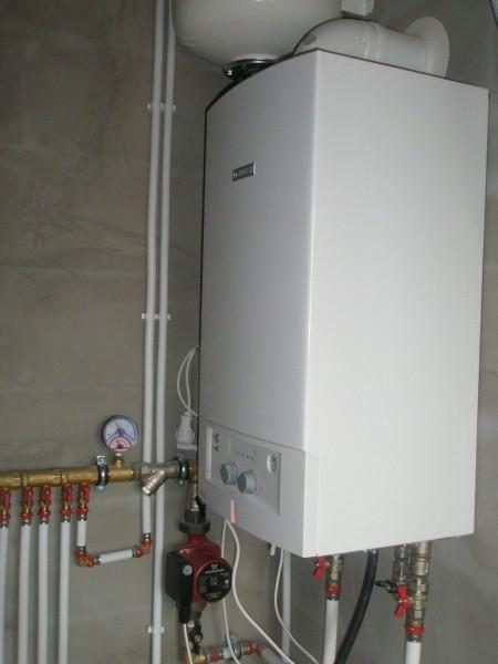 Компактные настенные газовые котлы обладают тепловой мощностью до 24 КВт.