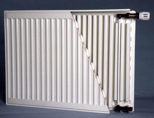 Конструкция стальных панельных радиаторов