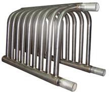 Конструкция типового регистра для обеспечения теплообмена