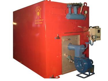 Котел для нагрева воды на жидком топливе
