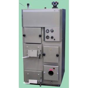 Котел оснащен отдельными топками для газа, соляры и твердого топлива любого типа.