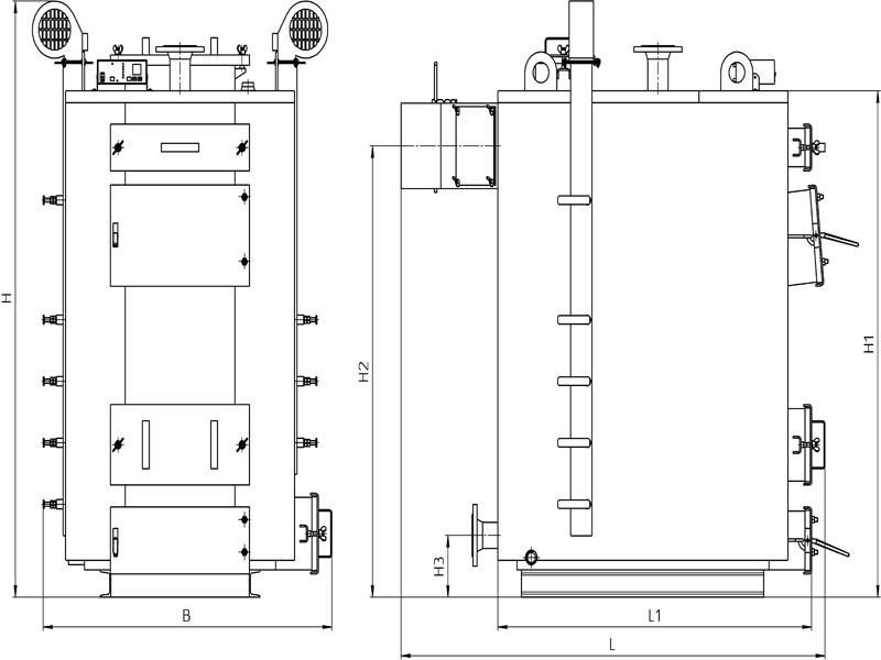 Теплообменник бытового отопительного котла Кожухотрубный испаритель Alfa Laval DH3-502 Уфа