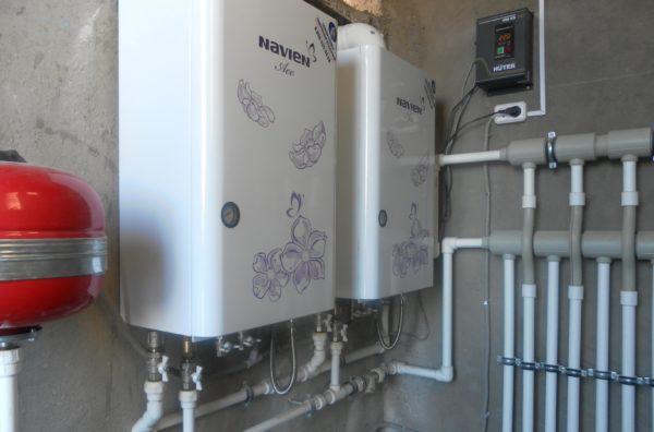 Котельная частного дома на газовом отопительном оборудовании
