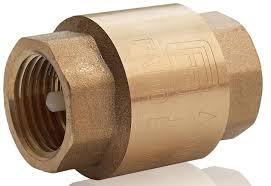 Латунный обратный клапан для отопления муфтовый