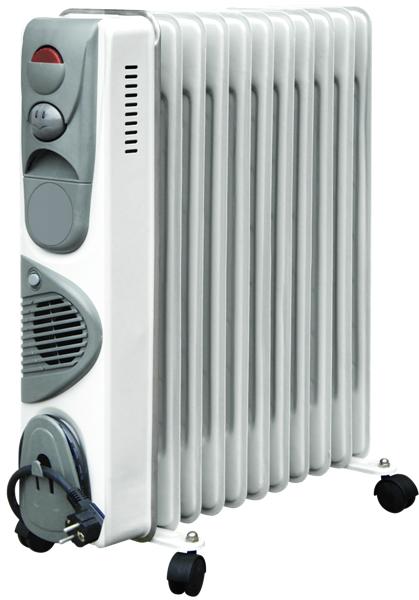Масляный радиатор с терморегулятором