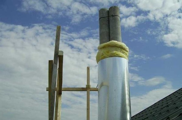 Минвата идеальна для теплоизоляции дымоходов.