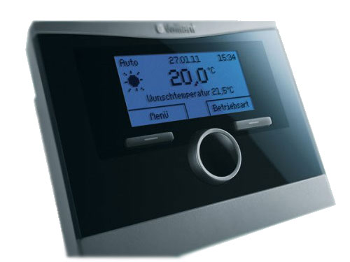Многие газовые и электрические котлы способны контролировать и температуру воздуха. На фото - выносной термостат.