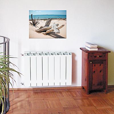 монтаж алюминиевых радиаторов отопления