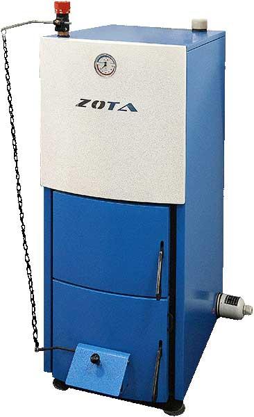 На фотографии отечественного Zota Mix хорошо видно устройство механического терморегулятора.