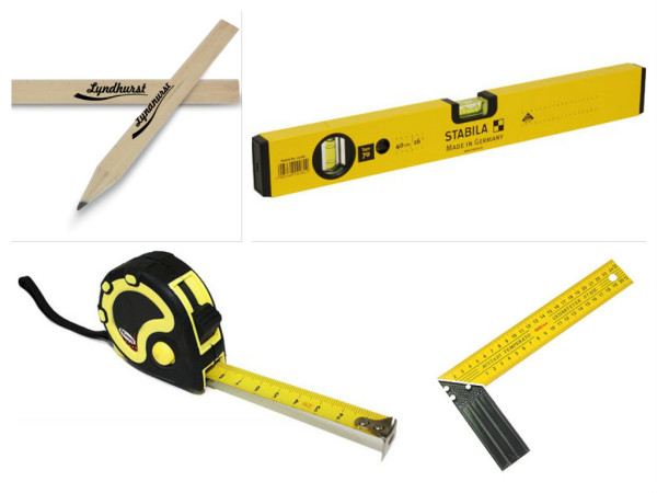 Набор измерительного инструмента используется практически при любых работах