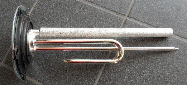 Нагревательный элемент с магниевым анодом, он защищает сталь от разрушения
