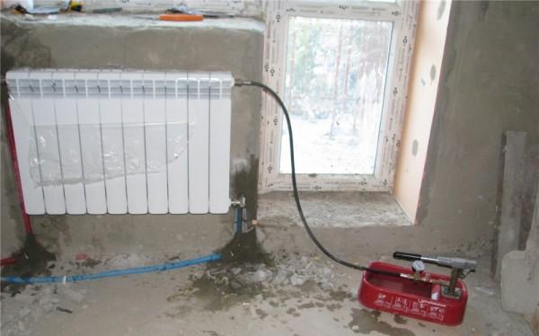 насос для заполнения системы отопления