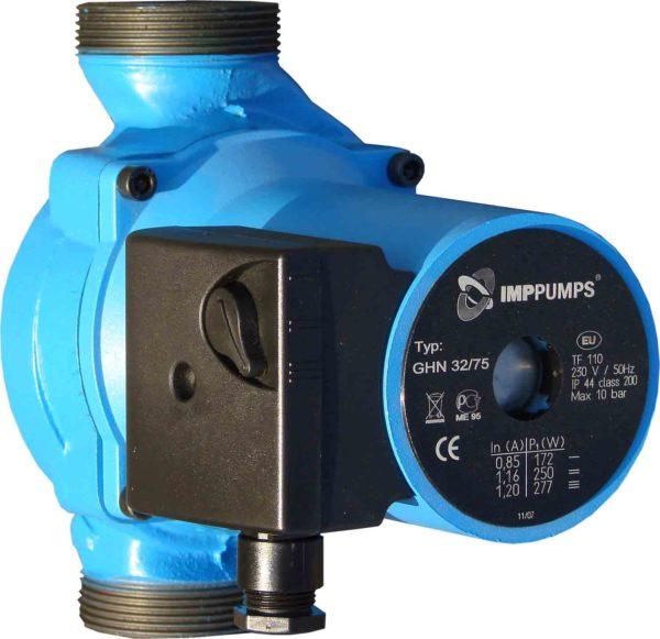 Насос со ступенчатой регулировкой мощности позволяет подобрать производительность, обеспечивающую равномерный нагрев радиаторов при отсутствии гидравлических шумов.