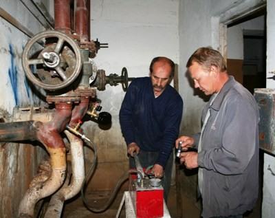 насосы для опрессовки систем отопления